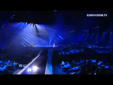 Pastora Soler - Quédate Conmigo (Stay With Me) live at the Grand Final of the 2012 Eurovision Song Contest